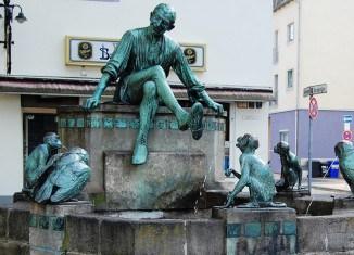 Der Eulenspiegelbrunnenen. Foto: Thomas Ostwald