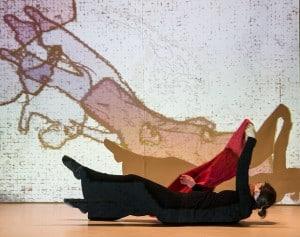 choreo.grafik mit Martina Reichelt und Remy Mouton. Foto: Peter Sierigk
