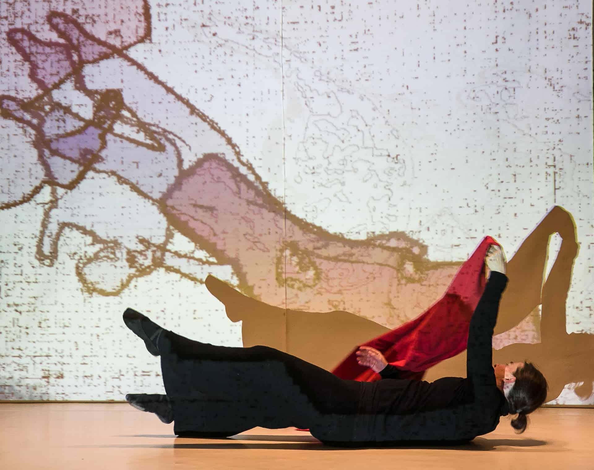 Michael Kaul war einer von 80 Künstlerinnen und Künstler, die ihr Atelier öffneten. Foto: Peter Sierigk