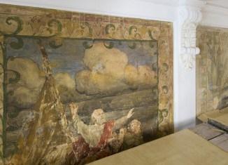 Freigelegte Wandgemälde. Foto: A. Pröhle, BLM