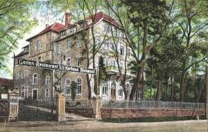 Postkarte vom Kurhaus Richmond . Archiv: Thomas Ostwald