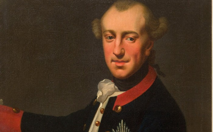 Carl Wilhelm Ferdinand in Uniform mit dem preußischen Schwarzen Adlerorden. Das Porträt ist Teil der Dauerausstellung des Schlossmuseums Braunschweig.