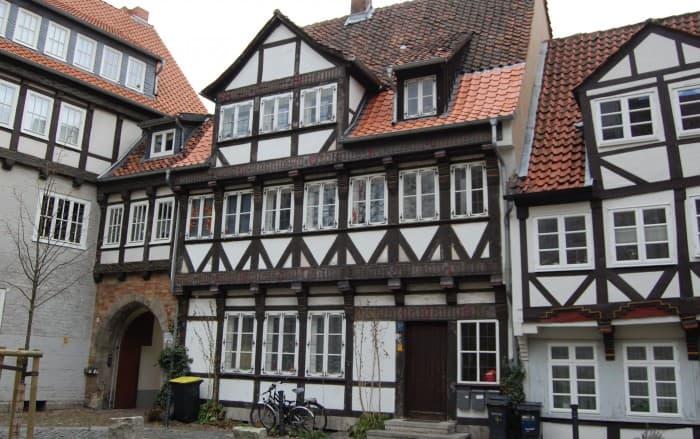 Haus Hinter der Magnikirche 4 hat eine Kriegslücke geschlossen. Foto: Thomas Ostwald