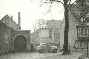 So sah es nach dem Krieg aus, als das Haus noch nicht stand. Archiv: Thomas Ostwald