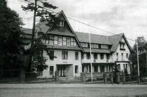 Das Erholungsheim in Sondershausen/Thüringen im Jahr 1989. Foto: Technikerverein