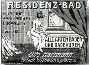 Anzeige aus dem Jahrbuch 1907/1908. Foto: Technikerverein