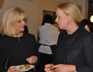 Erika Borek im Gespräch mit Susanne Markurth. Foto: Anke Meyer