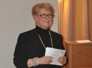 Soziologin Renate Kastrowsky-Kraft referierte über bürgerschaftliches Engagement. Foto: Hospiz Stiftung für Braunschweig