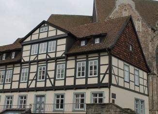Das Leisewitz-Haus ersetzte am Aegidienmarkt das Sterbehaus Lessings. Foto: meyermedia