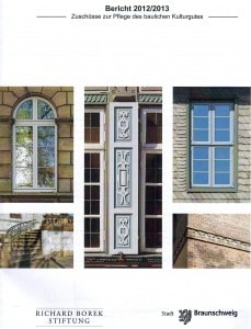 Titelblatt des Denkmalpflegeberichts 2012/2013.