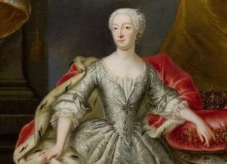 repräsentatives Gemälde in der Dauerausstellung des Schlossmuseums zeigt Philippine Charlotte als junge Herzogin. Foto: Schlossmuseum Braunschweig
