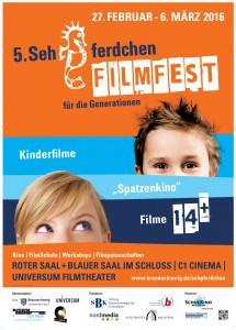 Das Filmplakat Sehpferdchen – das Filmfest für die Generationen