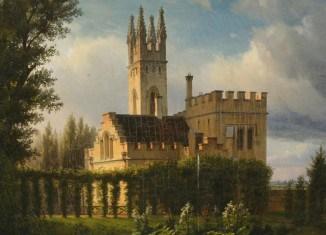 """Das im neogotischen Stil errichtete """"Williams-Castle"""" stand in der Nähe des Schlosses Richmond. Foto: Schlossmuseum Braunschweig"""
