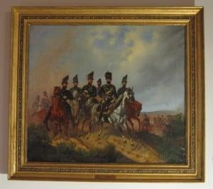 Das Gemälde zeigt Herzog Wilhelm mit Gefolge und wird nach aufwendiger Restaurierung im Schlossmuseum gezeigt. Foto: Schlossmuseum Braunschweig