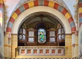 Die Orgel im Kaiserdom zu Königslutter. Foto: Stiftung Braunschweigischer Kulturbesitz/Andreas Greiner-Napp