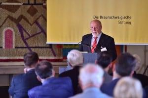 Dr. Rainer Zirbeck, Vorsitzender der Otto-Bennemann-Stiftung Braunschweig. Foto: Die Braunschweigische Stiftung