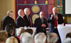 Die Diskussion wurde von Henning Noske moderiert. Foto: Die Braunschweigische Stiftung