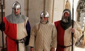 Heinrich der Löwe mit zwei Wachen. Foto: meyermedia