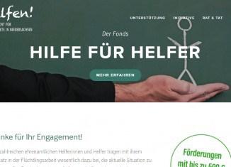 Die neue Website liefert Flüchtlingen wie Helfern wichtige Informationen und Tipps.