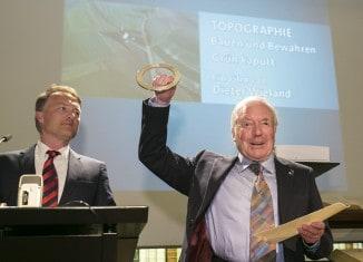 Preisträger Dieter Wieland. Foto: Die Braunschweigische Stiftung/Peter Sierigk