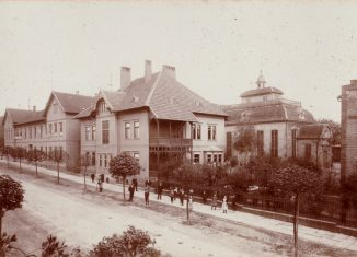 Seesen, Jacobsonschule um 1899. Foto: Archiv Jacobson Gymnasium Seesen