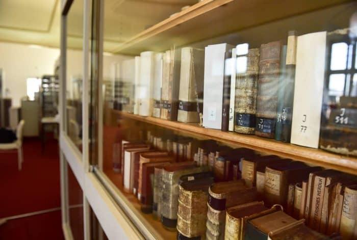 Der Lesesaal der Bibliothek der alten Universität Helmstedt steht bald wieder für Forschungsarbeiten zur Verfügung. Foto: Andreas Greiner-Napp
