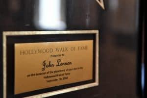 Inschrift zum Stein auf dem Hollywood Walk of Fame. Foto: Prüsse Stiftung/Andreas Greiner-Napp