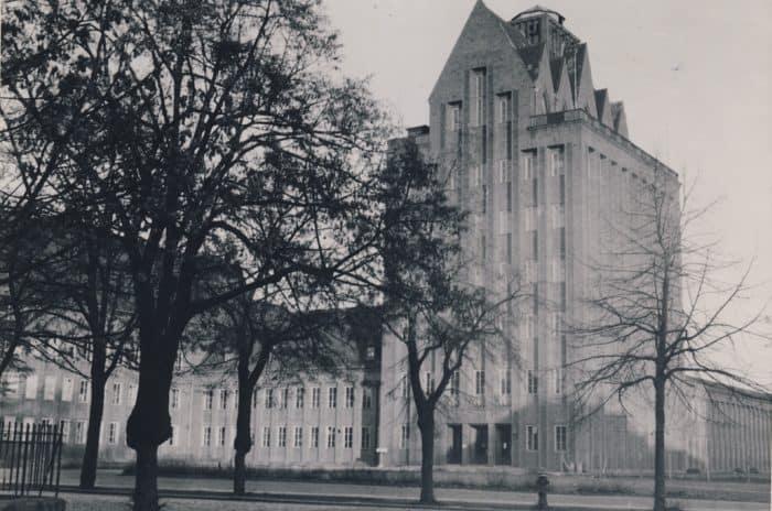 In der damaligen Kant-Hochschule (heute Haus der Wissenschaft) wurde der Braunschweigische Landtag am 21. November vor 70 Jahren aufgelöst. Foto: Universitätsbibliothek Braunschweig