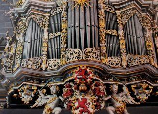 Die Orgel in St. Martini ziert den Bucheinband. Foto: meyermedia