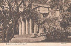 Alte Postkarte vom Portikus. Archiv: Thomas Ostwald