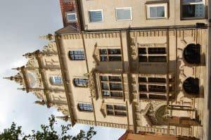 Architekt Constantin Uhde orientierte sich am Gewandhaus. Foto: Ostwald
