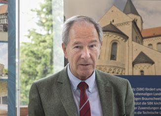 Dr. Gert Hoffmann, Präsident der Stiftung Braunschweigischer Kulturbesitz, zog am Freitag Bilanz seiner 12-jährigen Amtszeit. Foto: Peter Sierigk