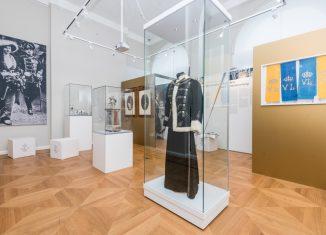 Blick in den Sonderausstellungraum. Foto: Küstner/Schlossmuseum