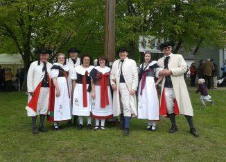 Bortfelder Trachtengruppe. Foto: Landestrachtenverband