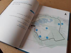 Für jede Strecke gibt es besondere Hinweise. Die Nummern finden sich für eine klare Zuordnung in den Texten wieder. Foto: Sportfreunde Braunschweig e.V.