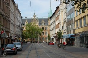 Blick auf die ehemalige Hauptpost heute. Foto: Thomas Ostwald