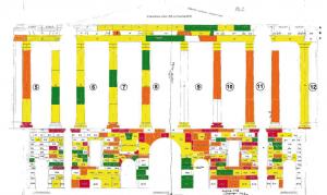 Plan über den Altstein-Bestand. Foto: Verlag