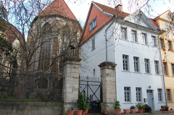 Das Haus Lessingplatz Nr. 3.. Foto: Thomas Ostwald