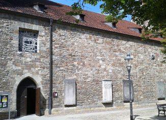 Ohne Fenster: die Südseite der Magnikirche. Foto: Archiv Ostwald