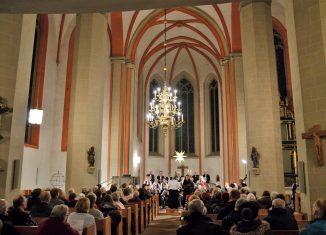 Das Collegium vocale in der Braunschweiger St. Petri-Kirche. Foto: Collegium vocale