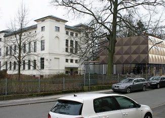 Das Georg-Eckert-Institut und der geplante Anbau. Grafik: Arbeitsgemeinschaft gebautes Erbe