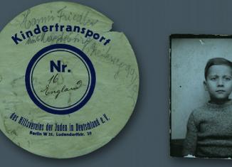 Voller Verzweifelung verschickten Juden ihre Kinder aus dem Nazi-Deutschland ins Ausland. Foto: Screenshot Flyer