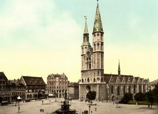Der Hagenmarkt um 1900. Foto: Screenshot Broschüre