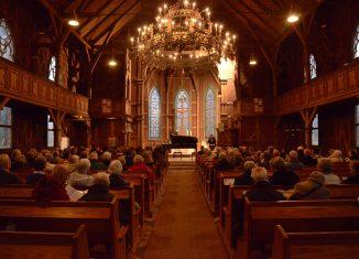 Das Festival ist schon viele Jahre zu Gast in der Trinitatiskirche in Braunlage. Foto: Verein Braunlager Maikonzerte.
