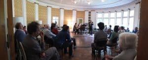 Der Musiksaal des Sanatoriums Barner, die geistige Heimat der Maikonzerte. Foto: Verein Braunlager Maikonzerte