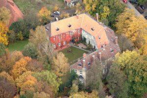 Der Schlosspark in Wendhausen aus der Luft: Foto: Braunschweigische Landschaft/ Thomas Liebig