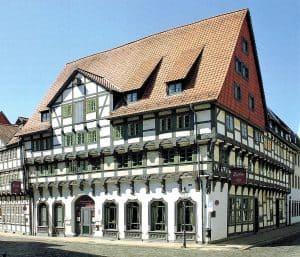 Alte Knochenhauerstraße 13 ist das am besten erhaltene und wertvollste mittelalterliche Fachwerkhaus Braunschweigs. Foto: Screenshot/Elmar Arnhold