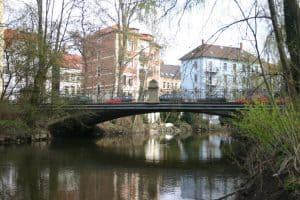 Die Gaußbrücke in ihrem aktuellen Zustand. Foto: Elmar Arnhold