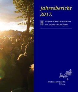 Titelseite des Jahresberichts. Foto: Braunschweigische Stiftung
