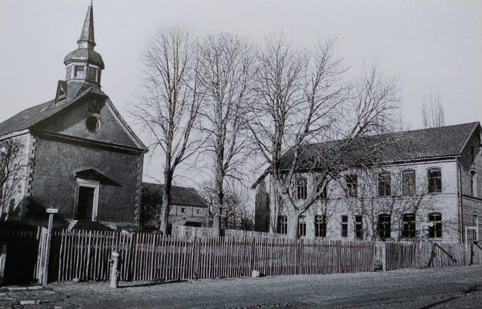 Kirche in Runstedt kurz vor dem Abriss Ende der 50 er Jahre. Foto: LK Helmstedt, Kreisheimatpflege